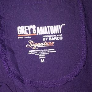 New with out tags Grey Anatomy purple scrub pants